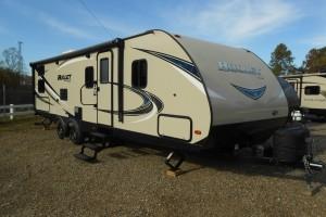 Pre-owned 2018 Keystone RV Bullet 277BHS Travel Trailer